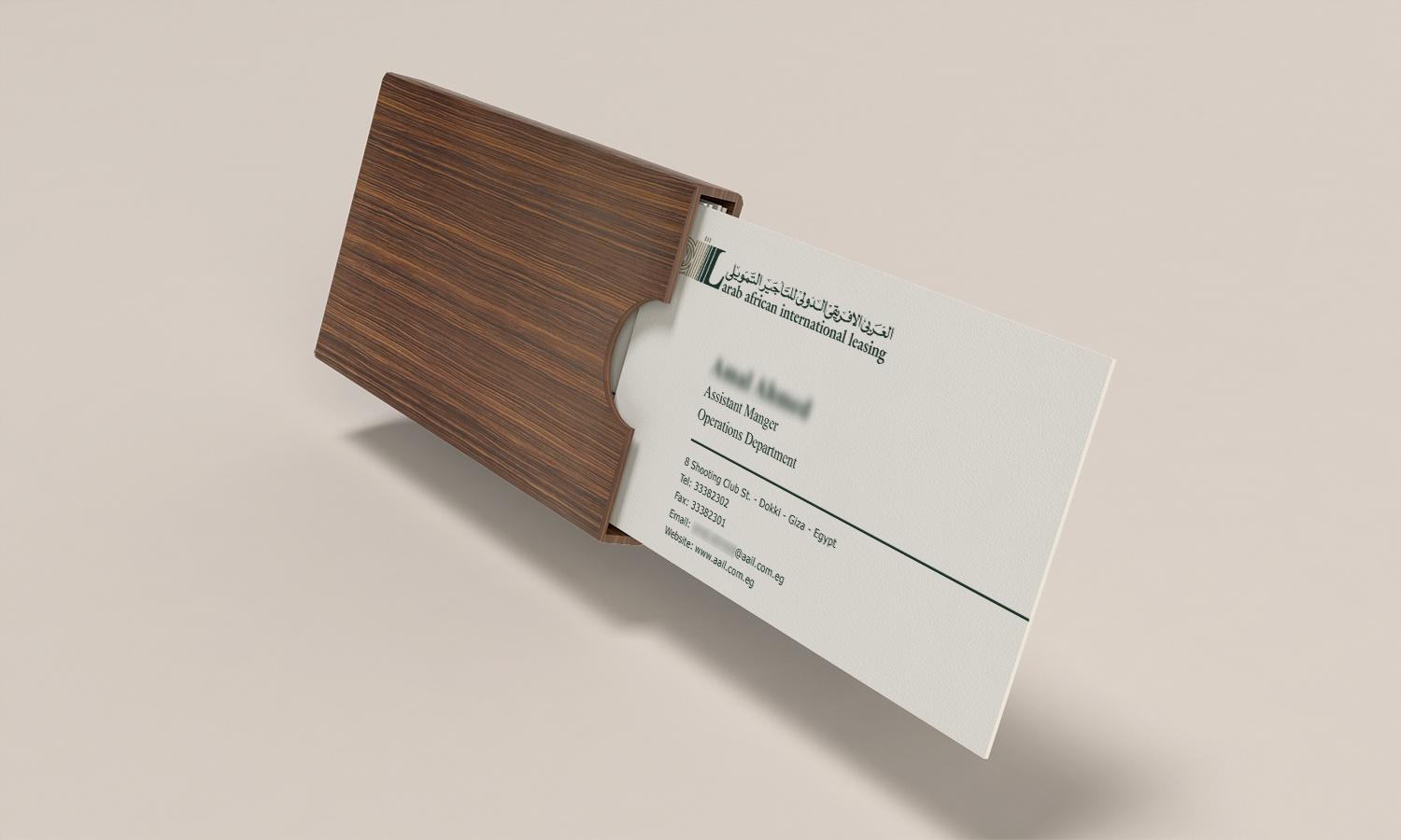afik business card design 01