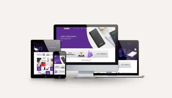 Osmo Business Limited website design