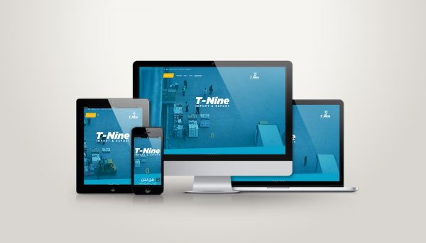 t9 Import and Export Website Design